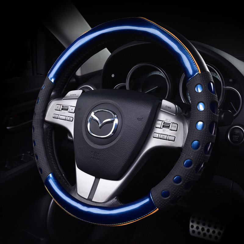 New Car Steering Wheel Cover Boutique Handle Cover Silicone Automobile Steering Wheel Cover Wear-Resistant Breathable Easy To Install