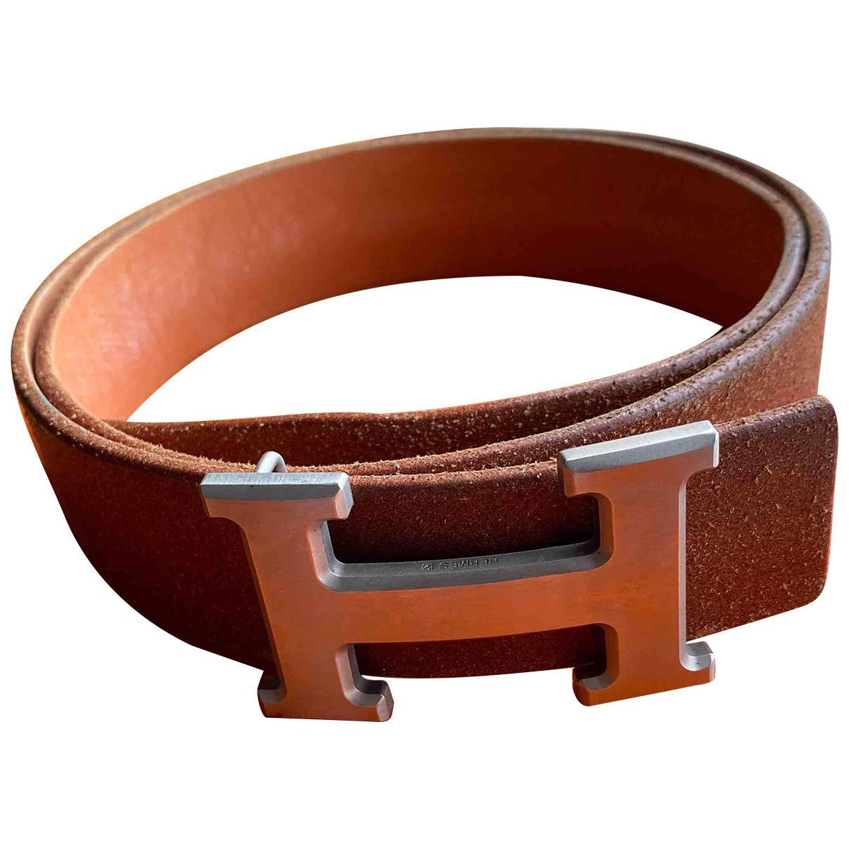 Hermès H Leather belt for Women 75 cm