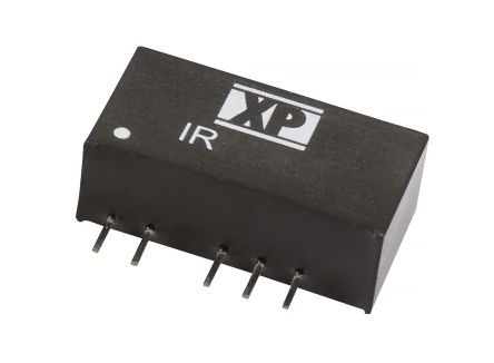 XP Power IR 3W Isolated DC-DC Converter Through Hole, Voltage in 4.5 → 5.5 V dc, Voltage out ±5V dc