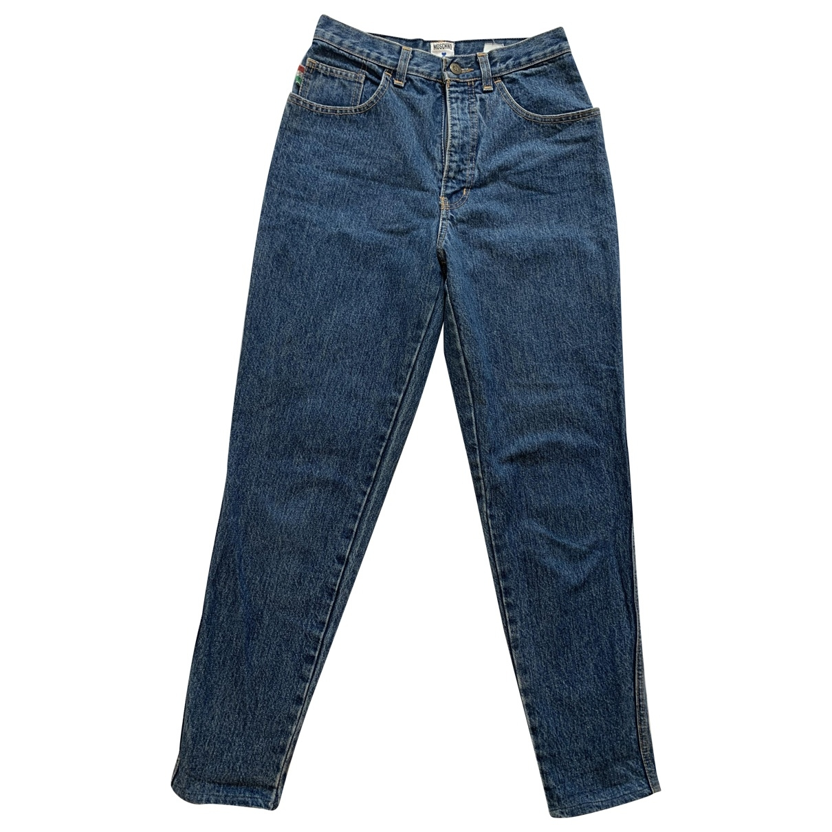 Moschino \N Blue Denim - Jeans Jeans for Women 29 US