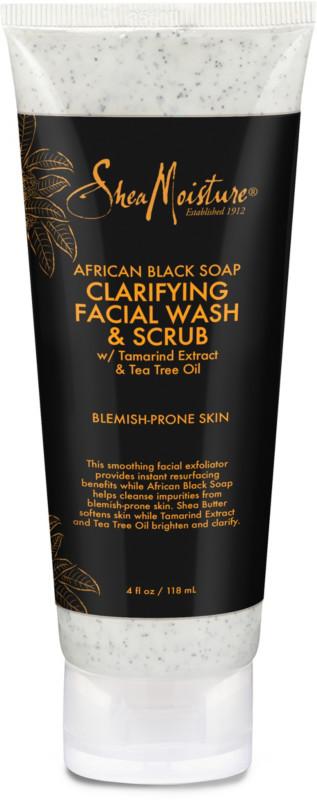 African Black Soap Problem Skin Facial Wash & Scrub