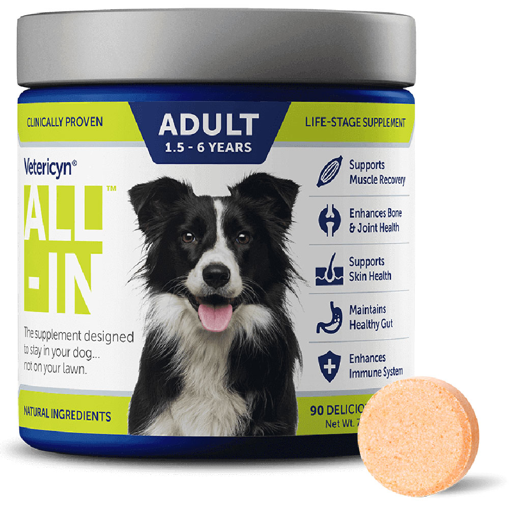 Vetericyn All-In Adult 1.5-6 Years Life Stage Supplements 90 count