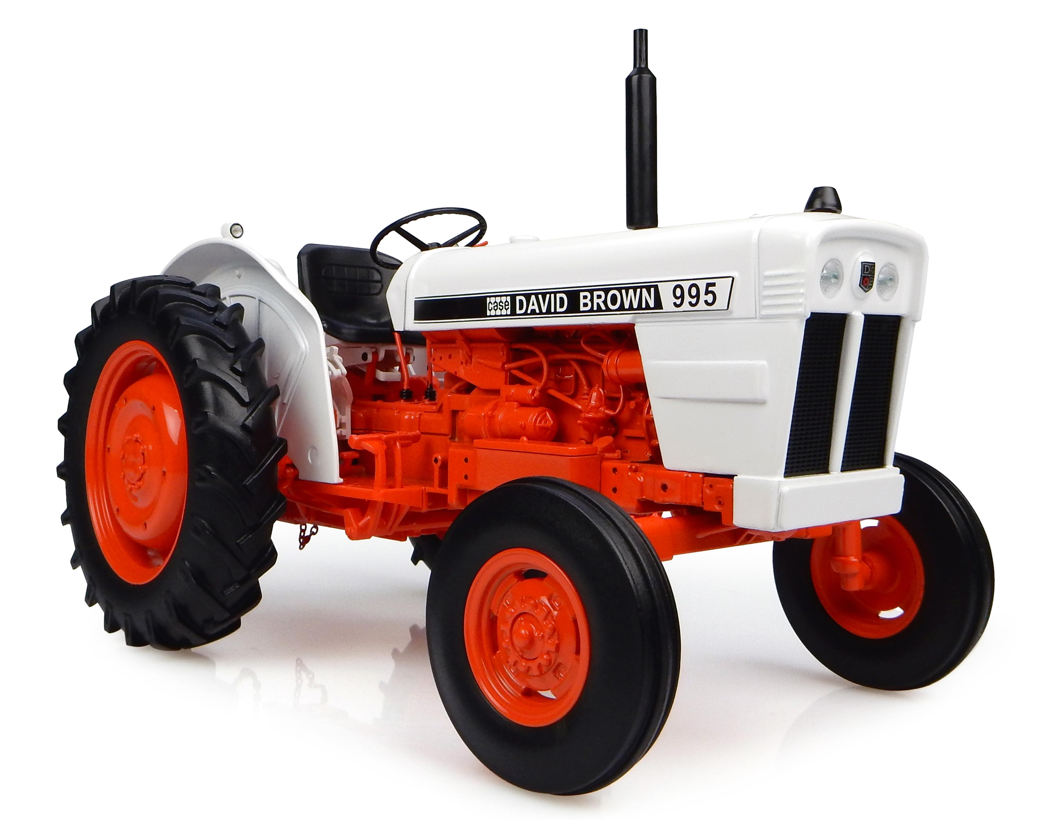 1973 Case David Brown 995 Tractor 1/16 Diecast Model by Universal Hobbies