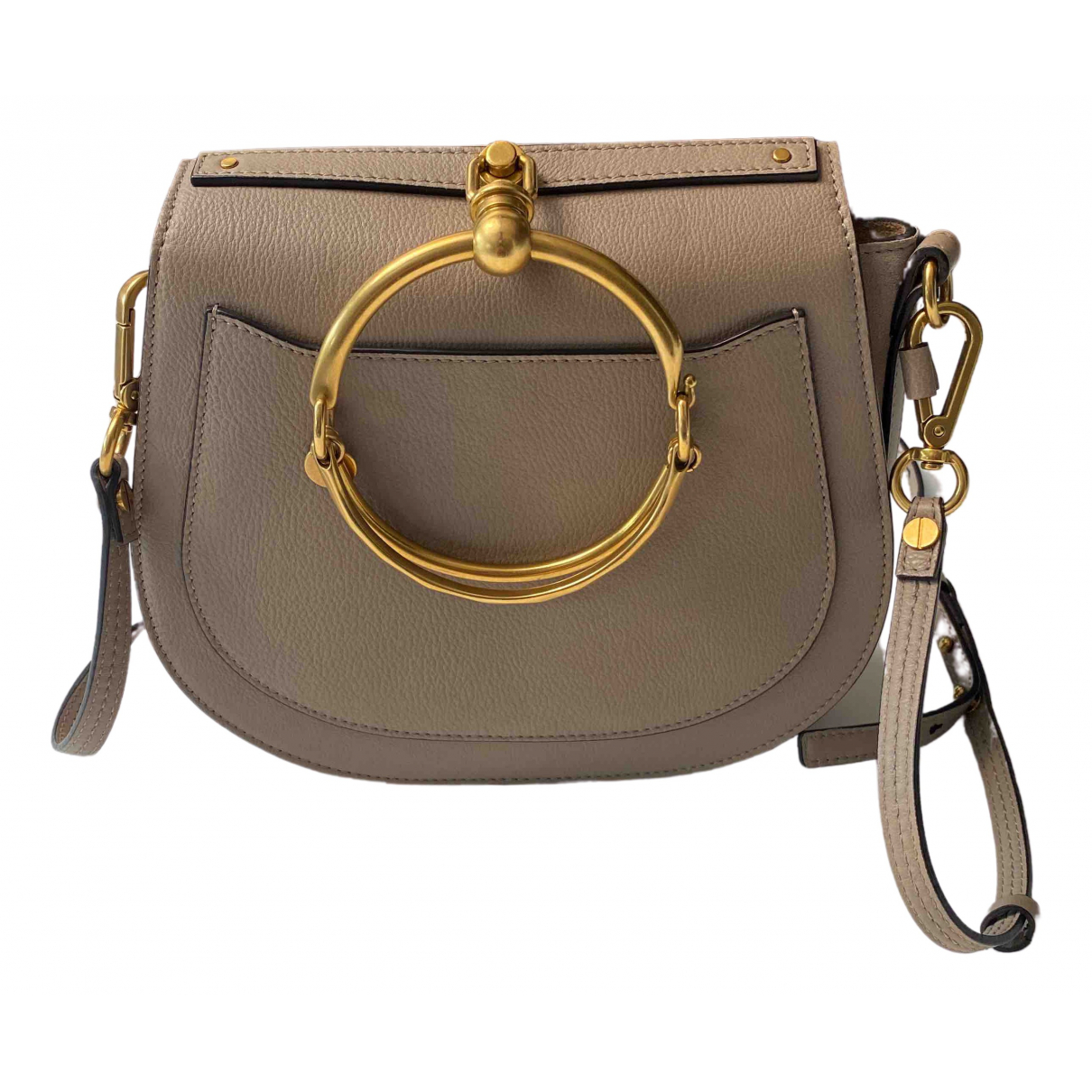 Chloé Bracelet Nile Grey Leather handbag for Women \N