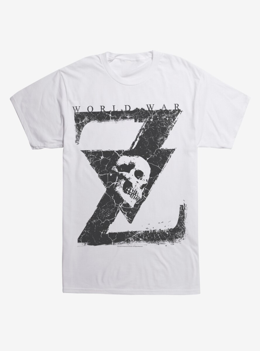 World War Z Skull T-Shirt