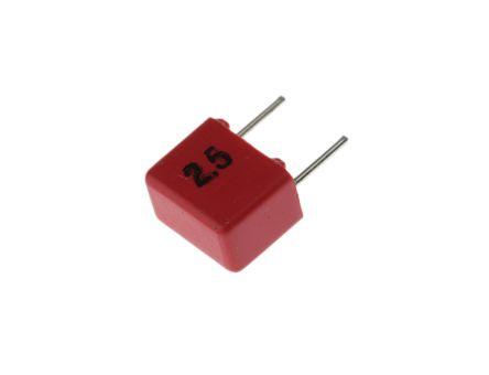 WIMA 6.8nF Polypropylene Capacitor PP 40 V ac, 63 V dc ±5% Tolerance Through Hole FKP2 Series (10)