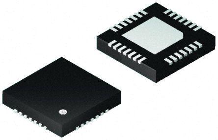 Microchip dsPIC33EV256GM102-I/MM , 16bit DSP 70MIPS 256 kB Flash 28-Pin QFN