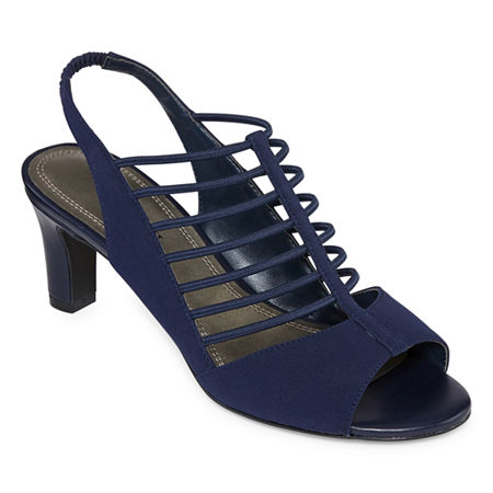 east 5th Womens Neville Heeled Sandals, 12 Medium, Blue