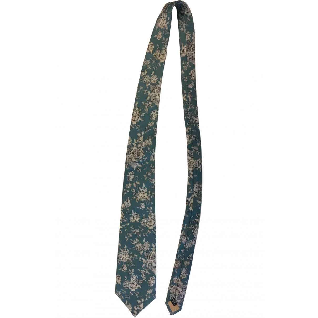 Liberty Of London \N Blue Silk Ties for Men \N