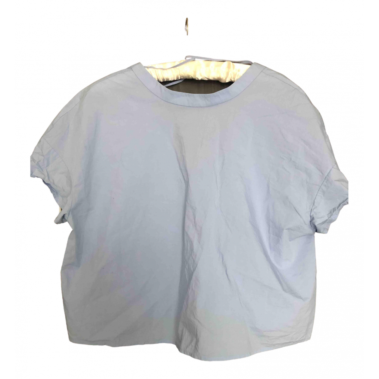 & Stories \N Blue Cotton  top for Women 12 US