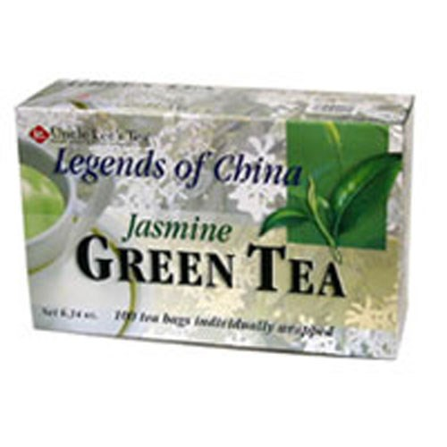 Legends Of China Green Tea Jasmine, 100 Bag by Uncle Lees Teas