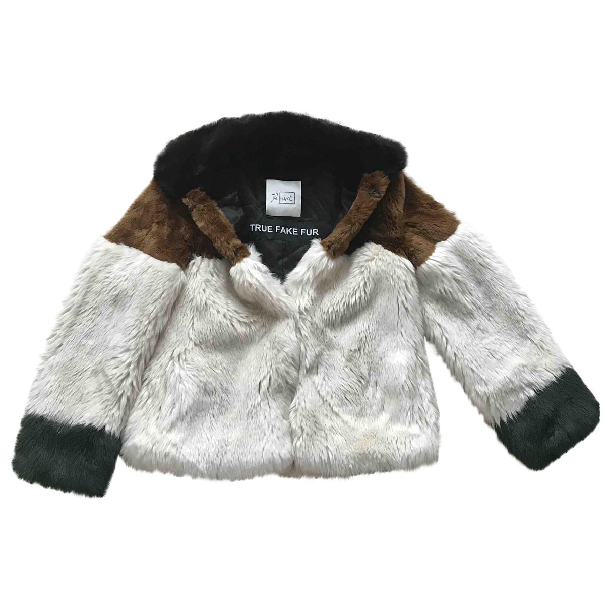 De' Hart \N Multicolour Faux fur coat for Women 36 FR