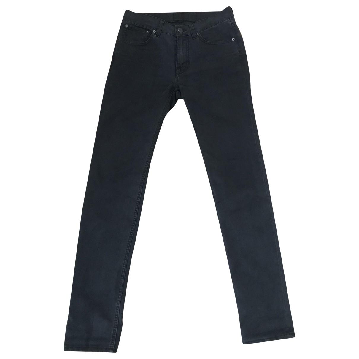 Acne Studios \N Black Cotton Jeans for Men 29 US