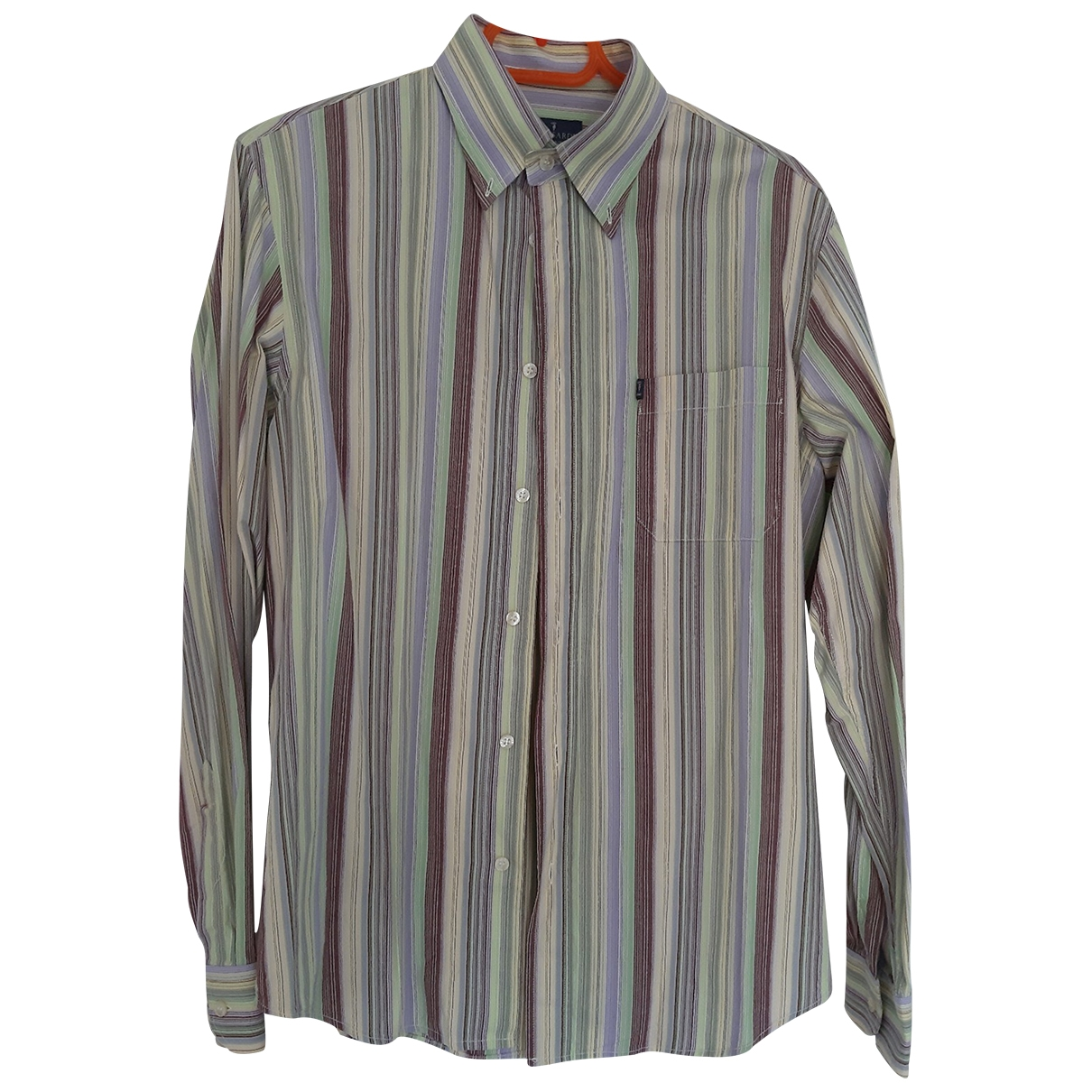 Trussardi \N Green Cotton Shirts for Men L International
