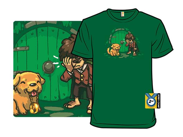 Gold Retriever T Shirt