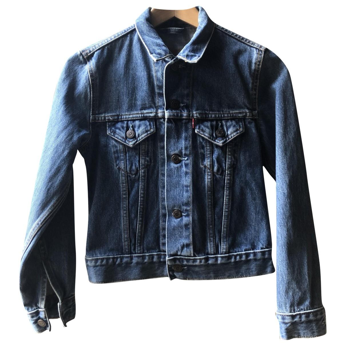 Levi's \N Blue Denim - Jeans jacket for Women XS International