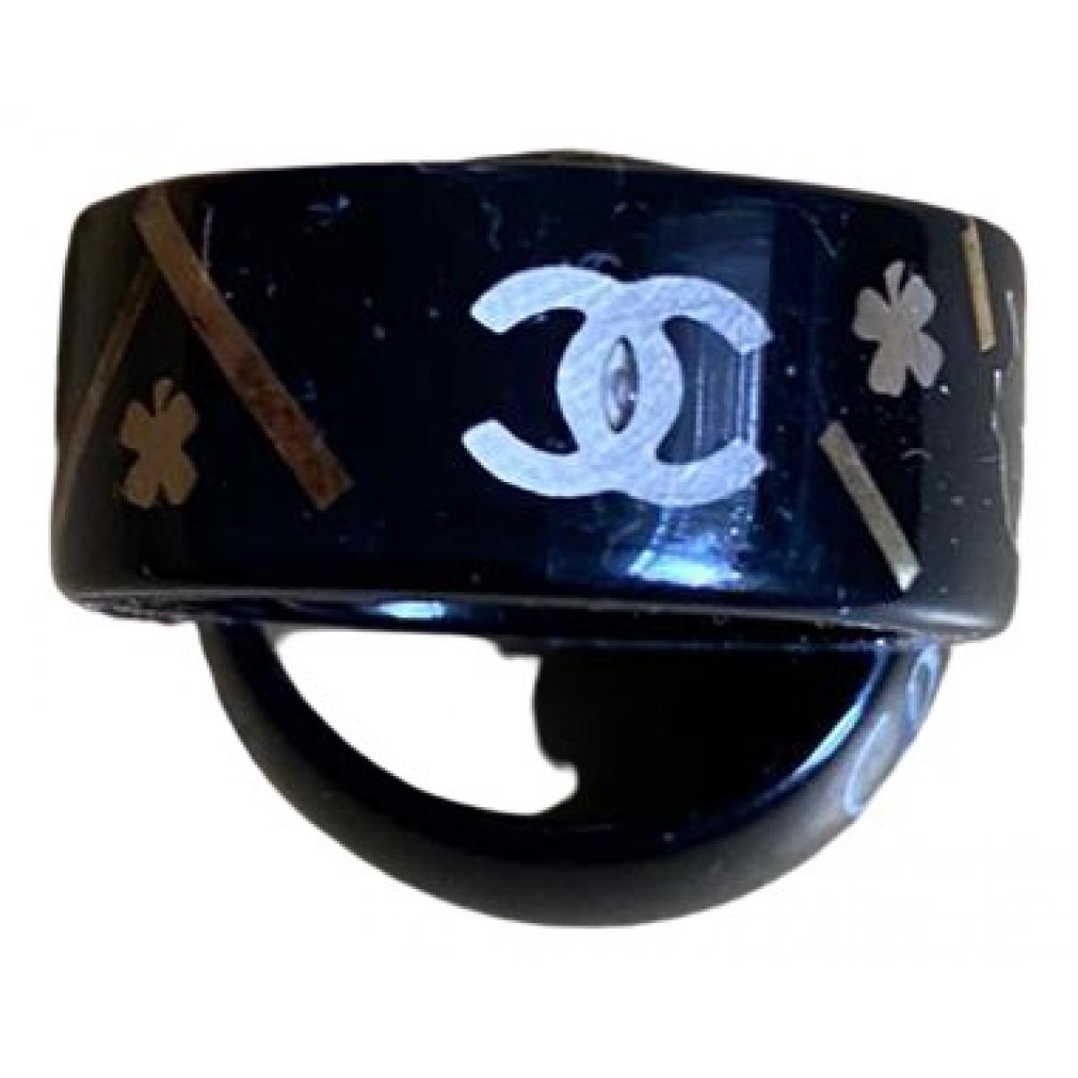 Chanel CC Black ring for Women 54 EU