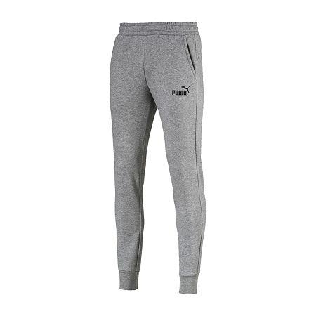 Puma Mens Regular Fit Jogger Pant - Big and Tall, 2x-large Tall , Gray