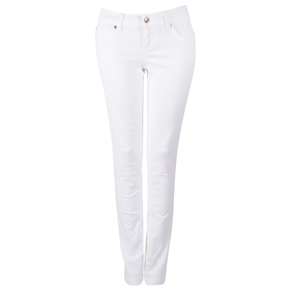 Gucci \N White Cotton - elasthane Jeans for Women 28 US