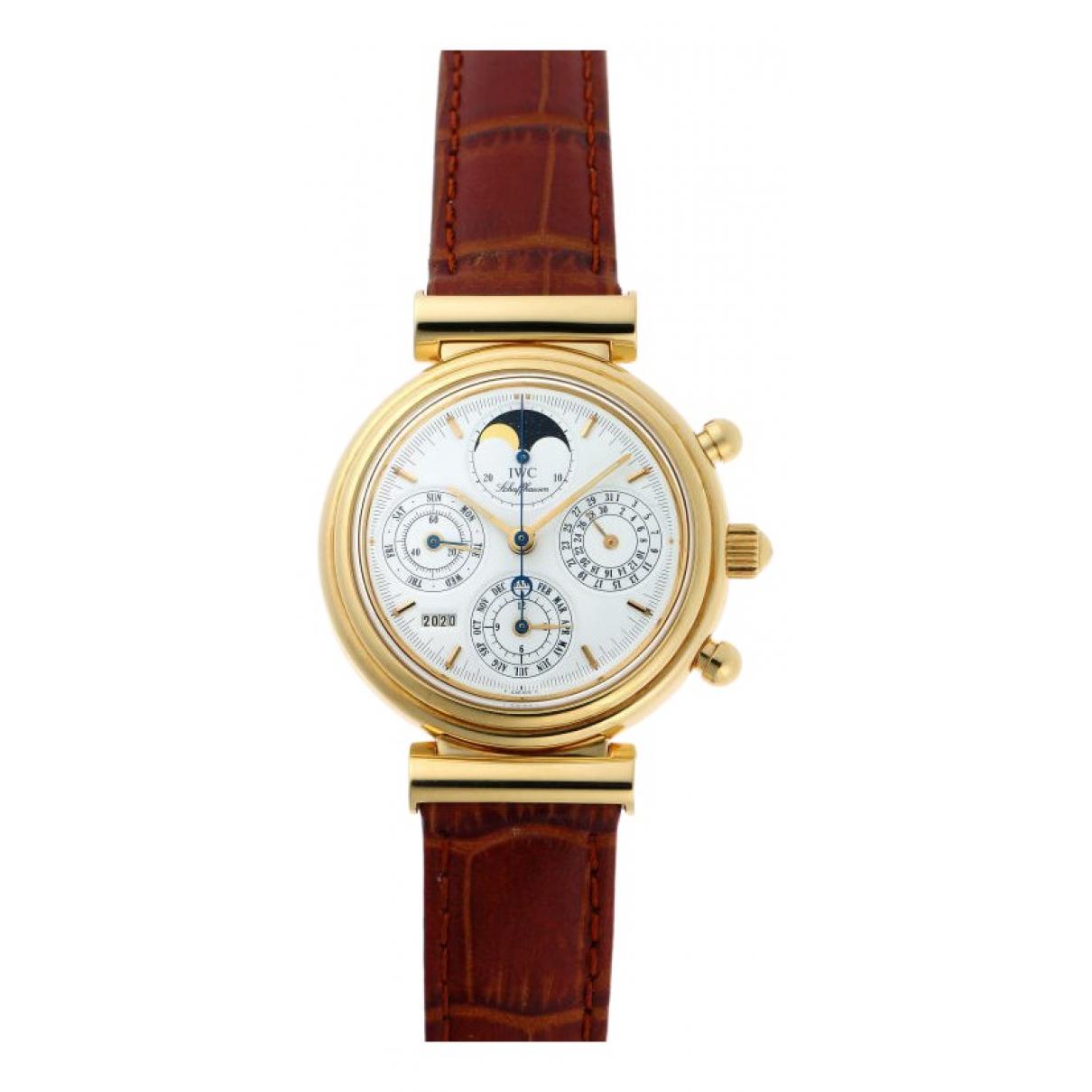 Iwc Da Vinci Gold Yellow gold watch for Men \N