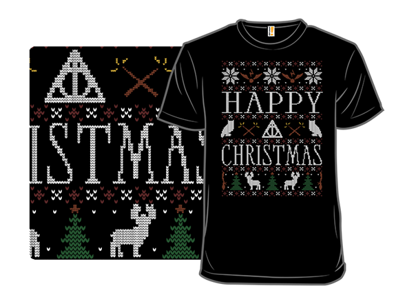 Happy Christmas T Shirt