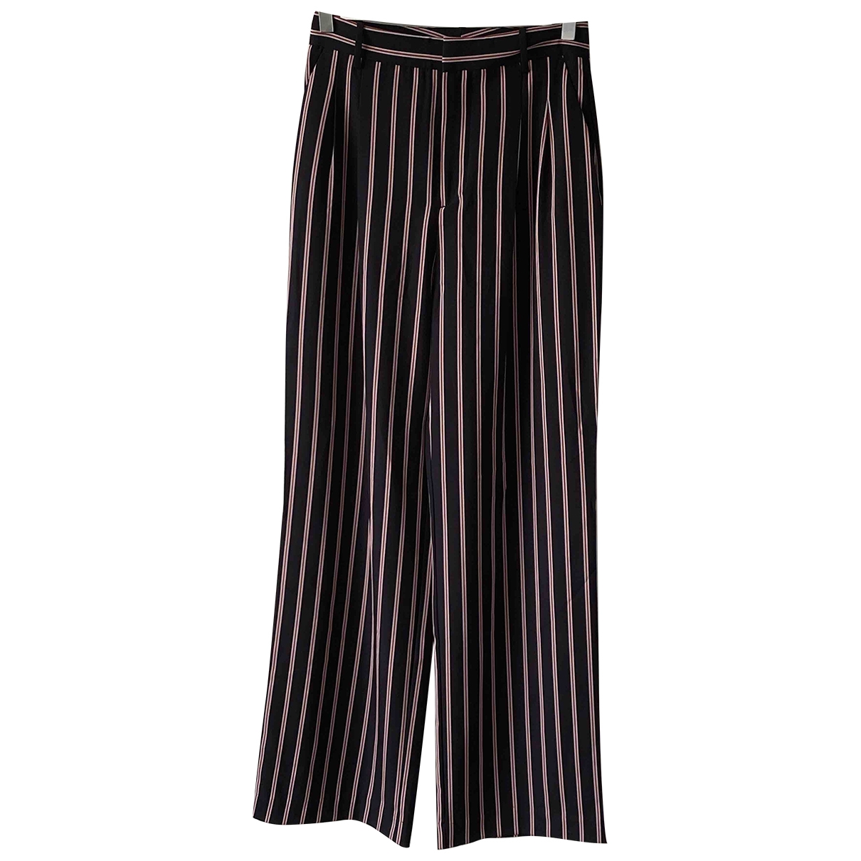 Zara \N Navy Trousers for Women S International