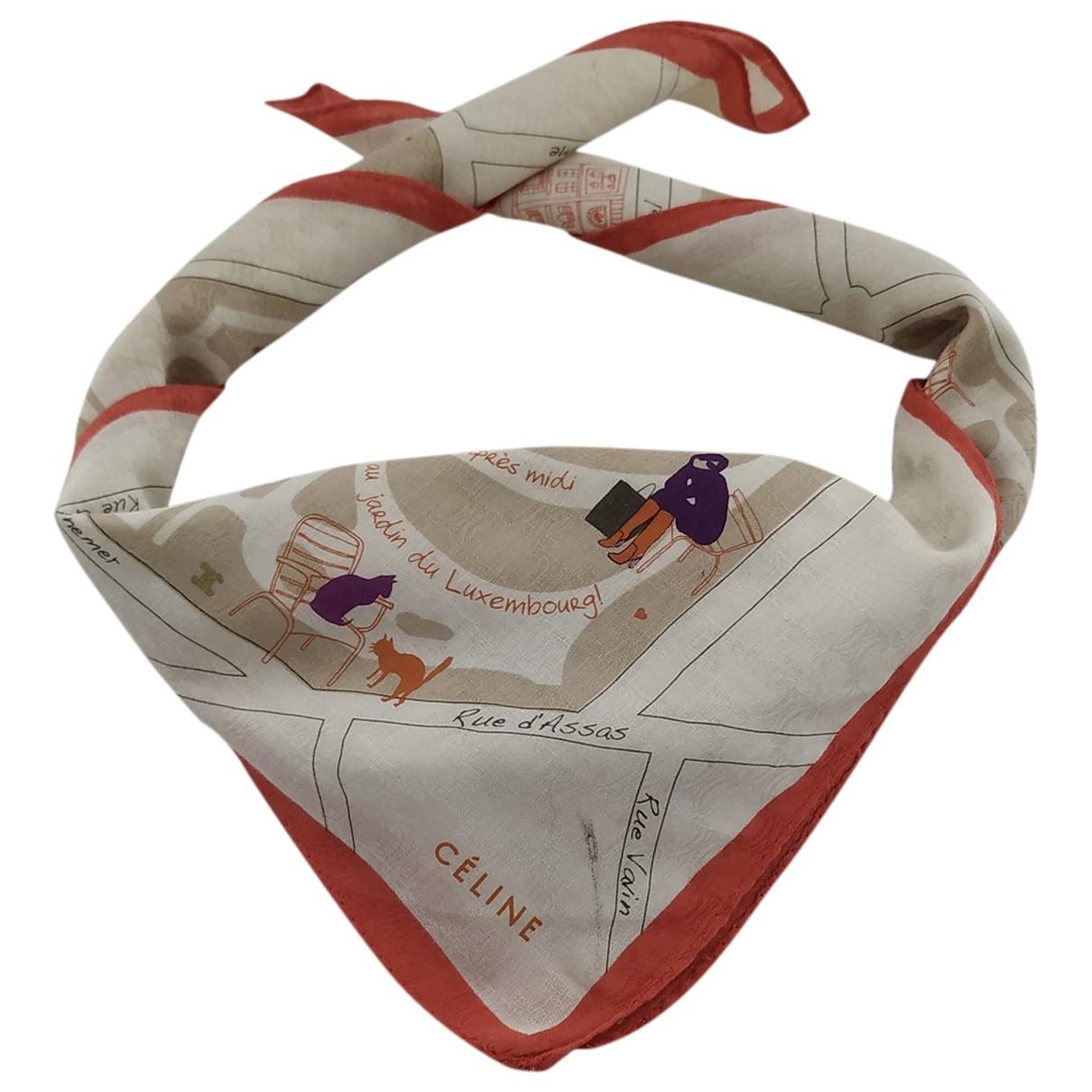 Celine \N Cotton scarf for Women \N
