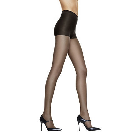 Hanes Silk Reflections Silky Sheer Control-Top Reinforced Toe Pantyhose, Ef , No Color Family