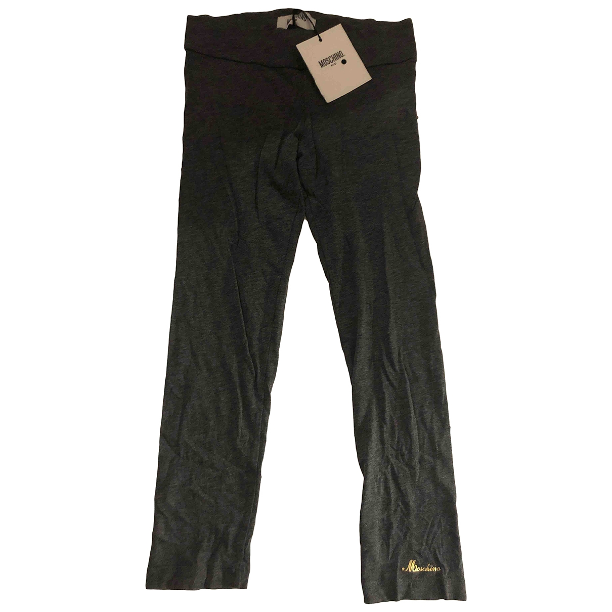 Moschino \N Grey Cotton Trousers for Kids 5 years - up to 108cm FR