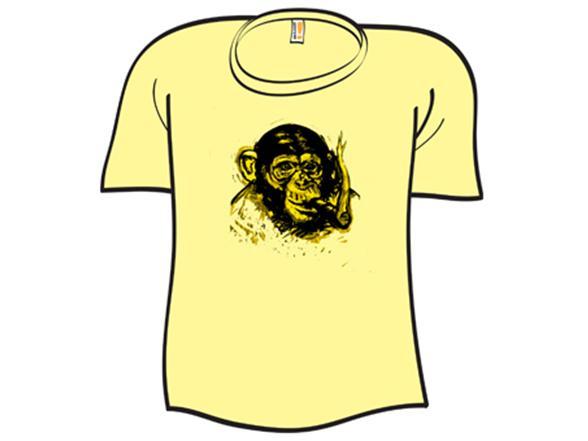 Chimpanzee Robusto T Shirt