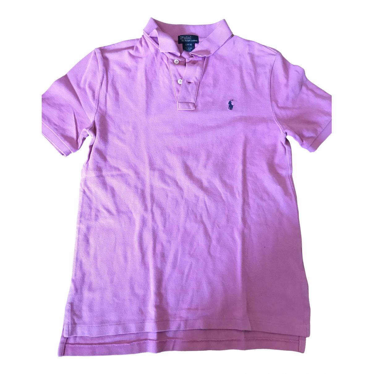 Polo Ralph Lauren \N Pink Cotton Polo shirts for Men L International
