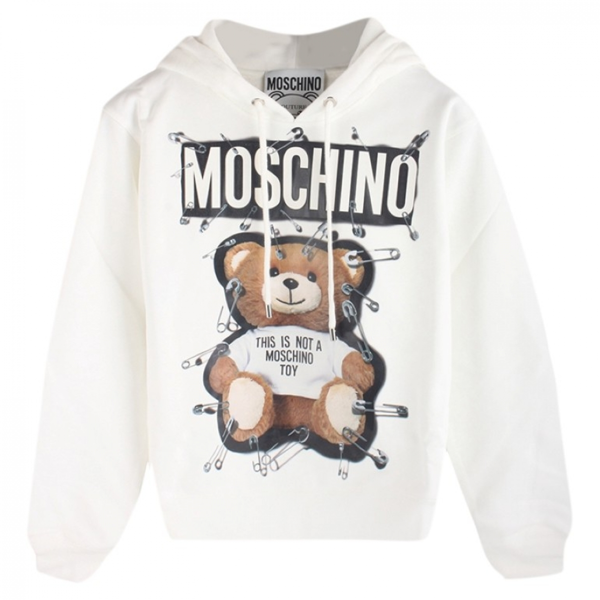 Moschino \N White Cotton Knitwear for Women 36 FR