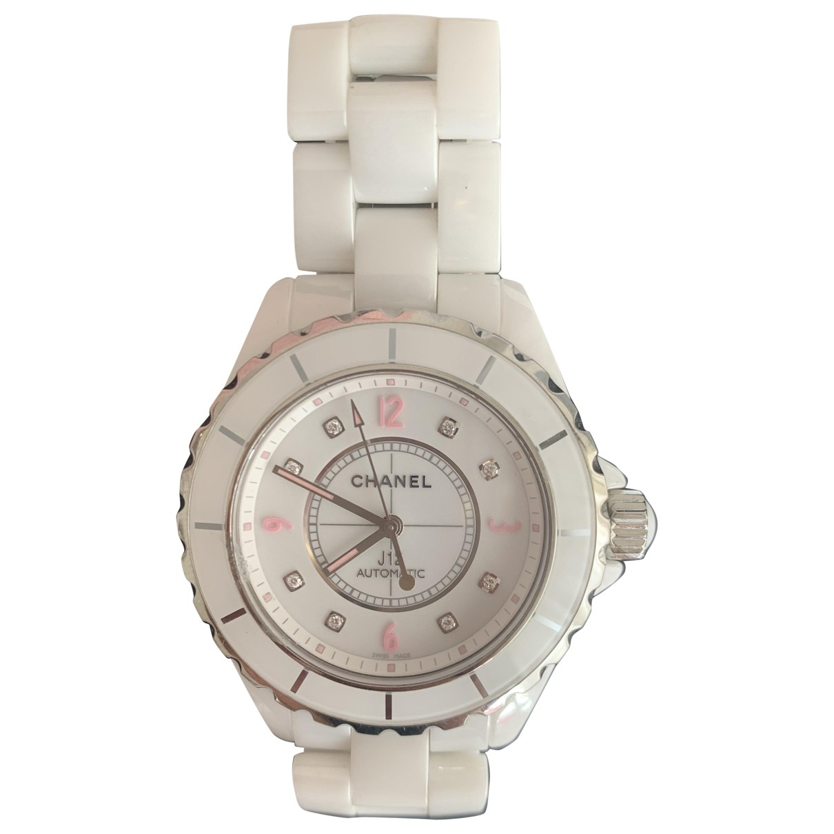 Chanel J12 Automatique White Ceramic watch for Women \N
