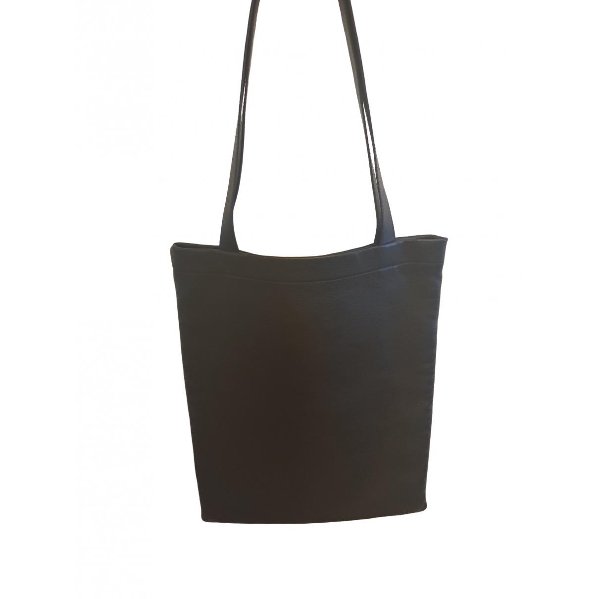 Saint Laurent - Sac a main   pour femme en cuir - noir