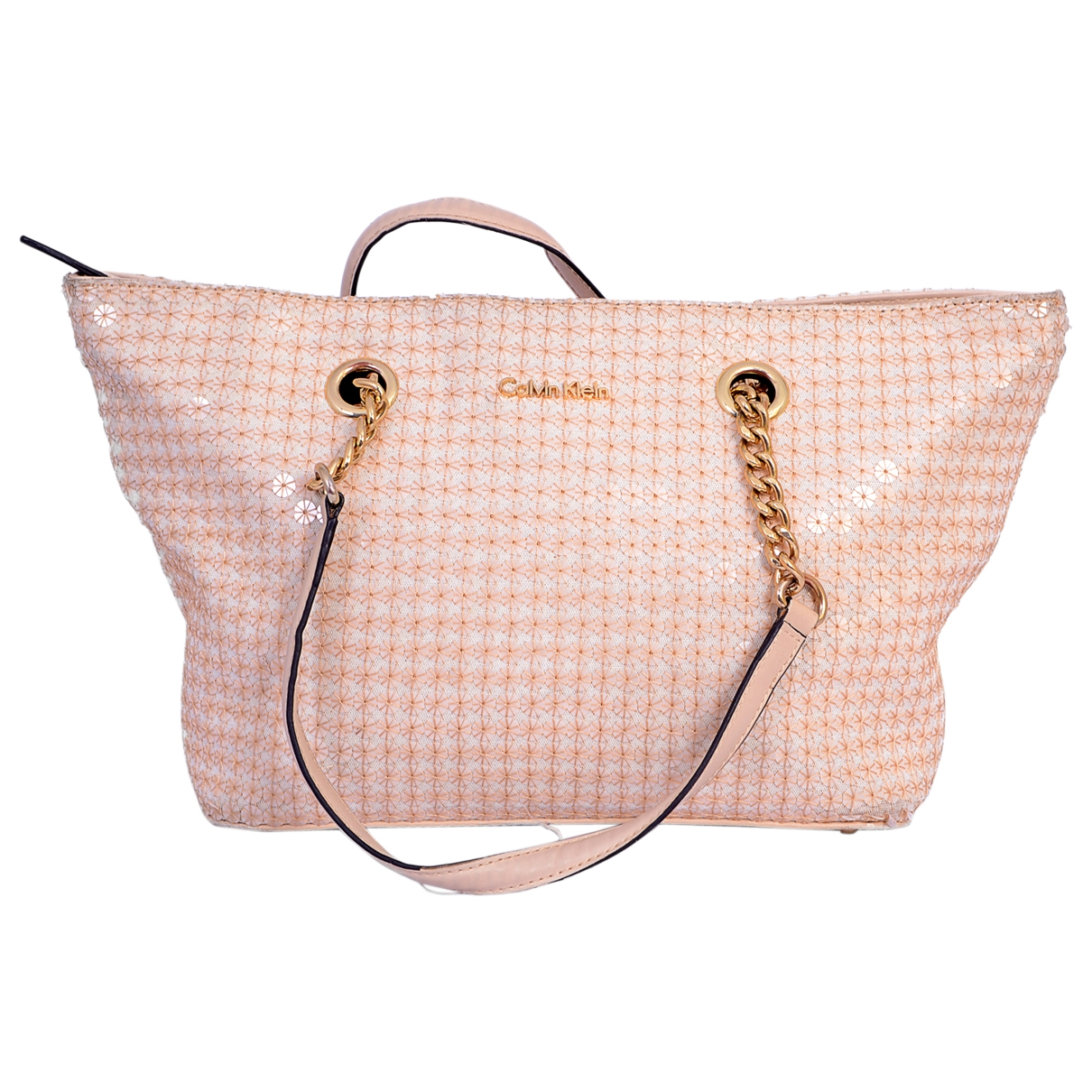 Calvin Klein \N Pink Glitter handbag for Women \N