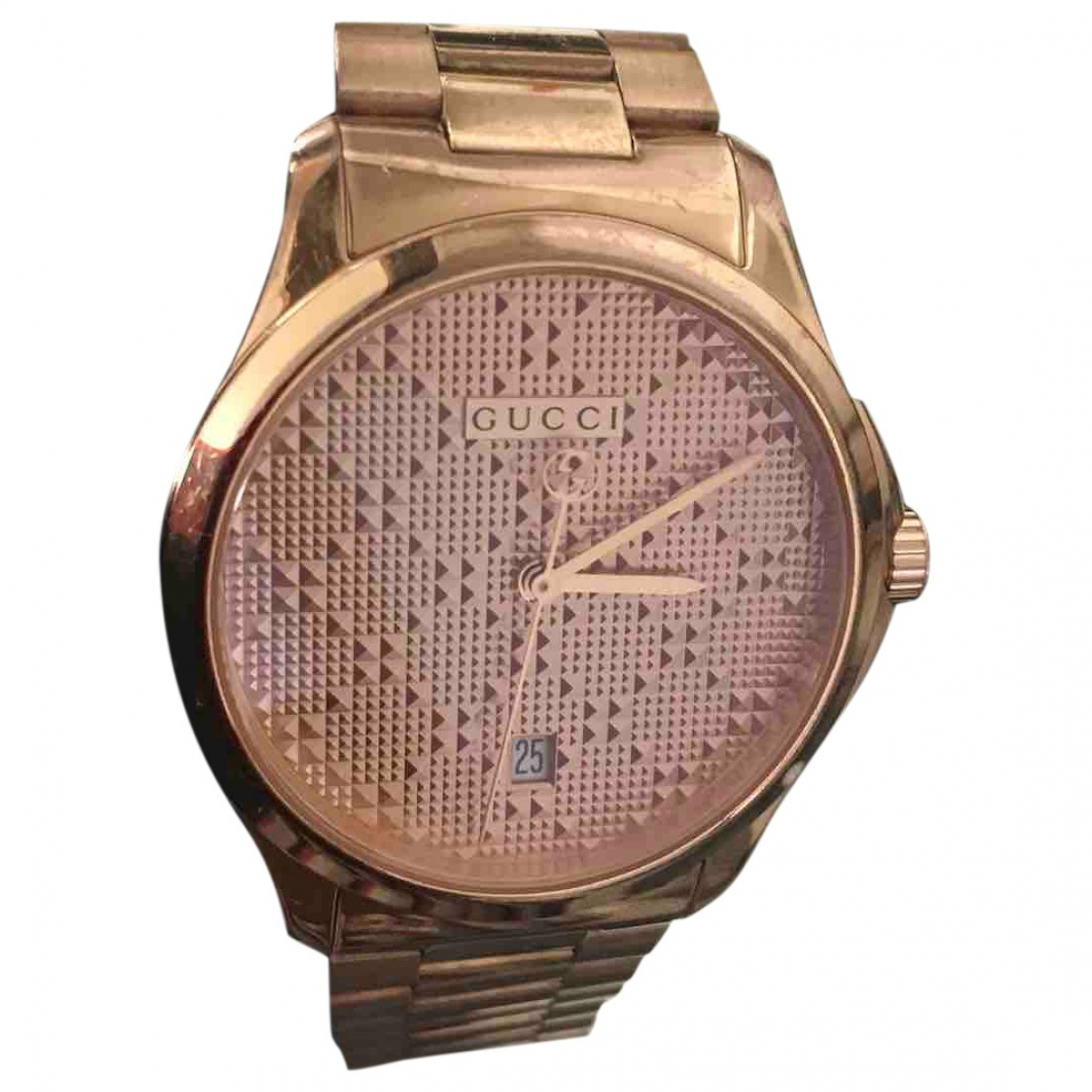 Gucci G-Timeless Pink Steel watch for Women \N