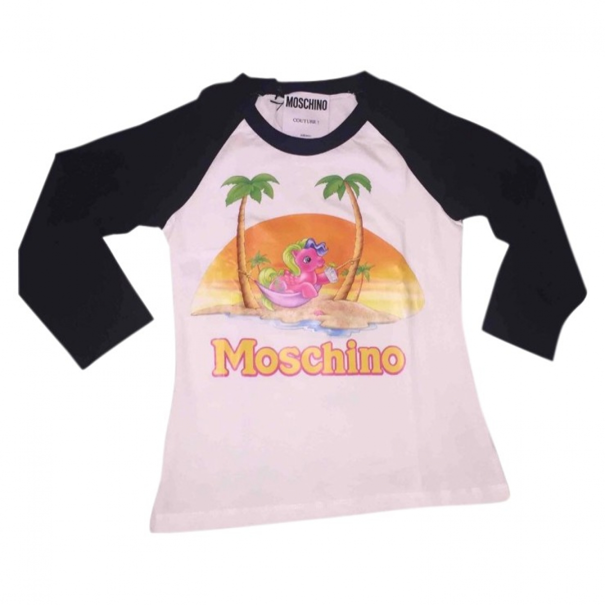 Moschino \N Pink Cotton  top for Women 40 IT