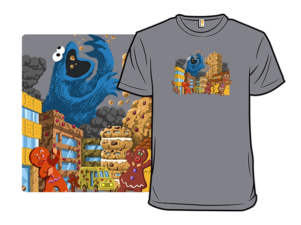 Attack In Cookie Town T Shirt