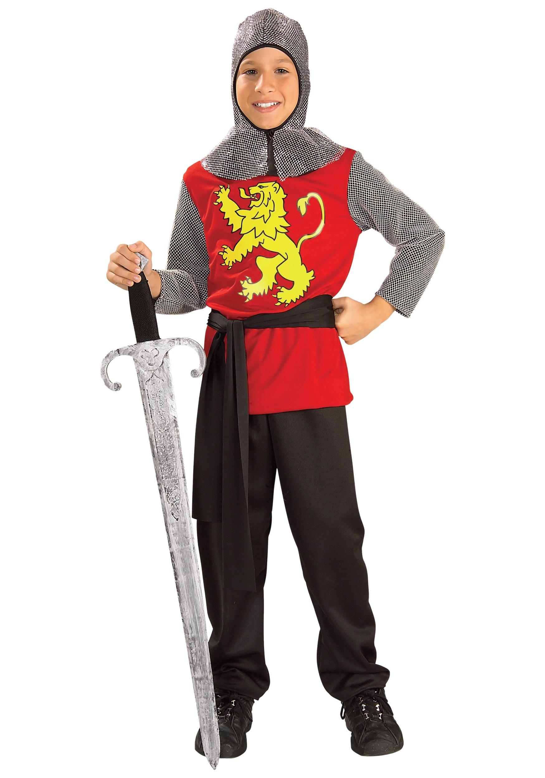 Medieval Knight Kids Costume