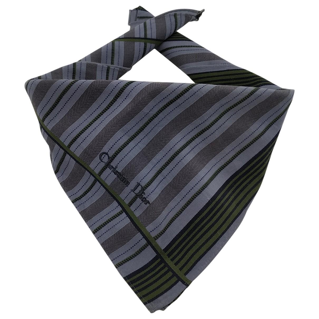 Dior \N Cotton scarf & pocket squares for Men \N