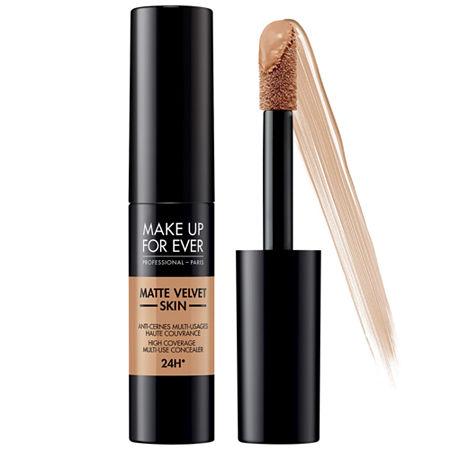 MAKE UP FOR EVER Matte Velvet Skin High Coverage Multi-Use Concealer, One Size , Beige