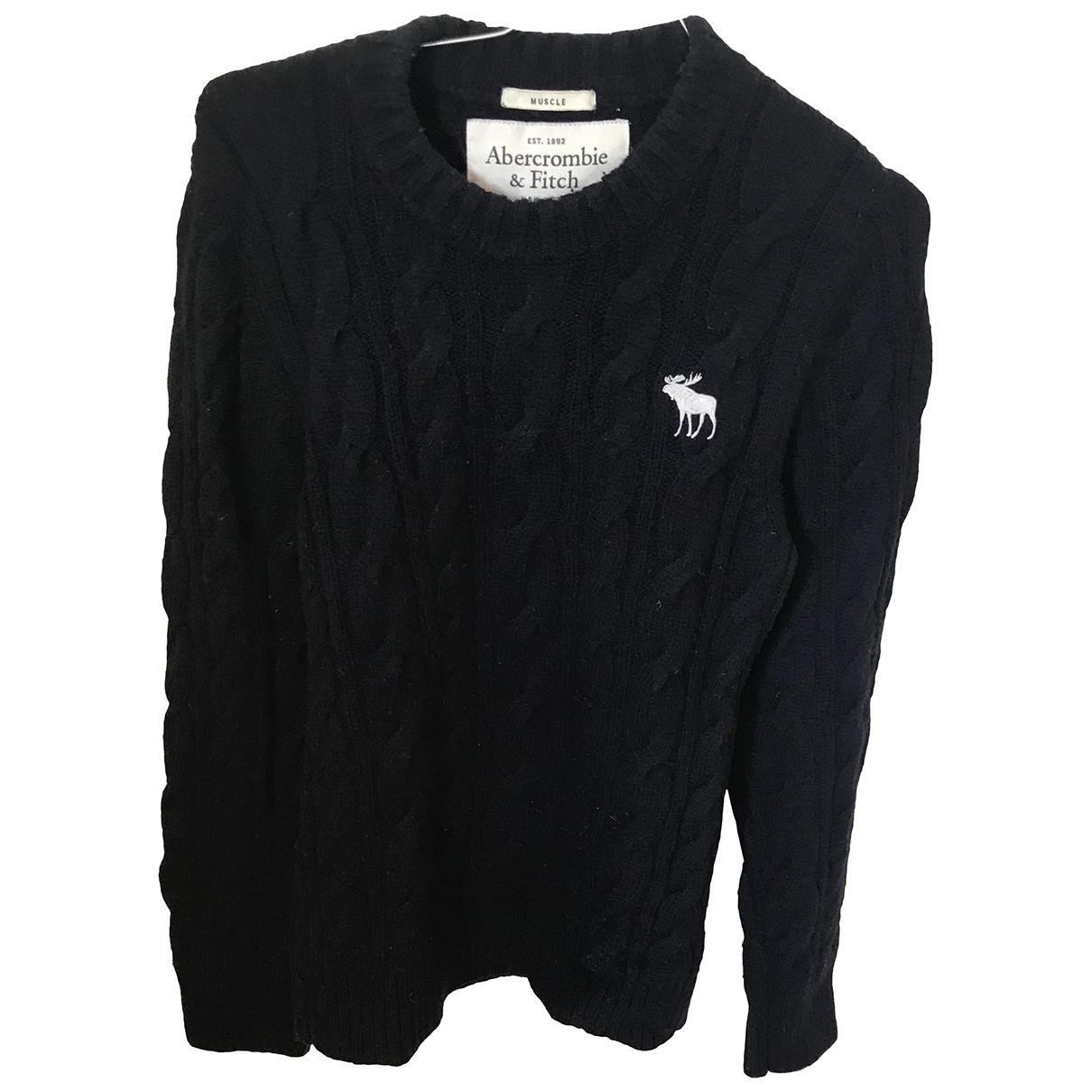 Abercrombie & Fitch \N Blue Wool Knitwear & Sweatshirts for Men S International