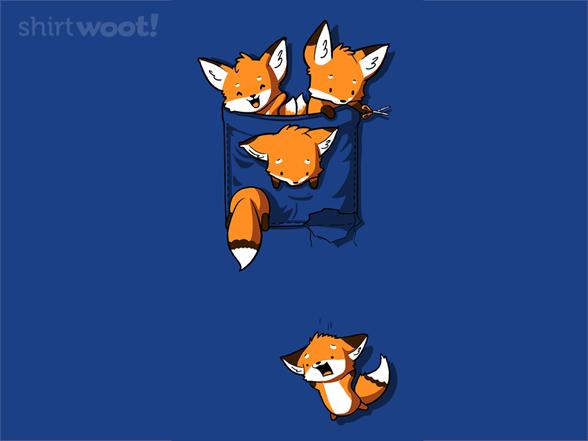 Fox Pocket T Shirt