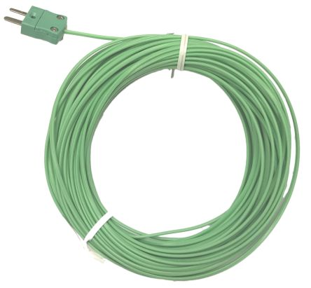 RS PRO Type K Exp.Junction Thermocouple PFA10m