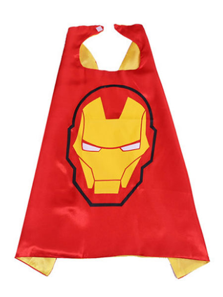 Milanoo Kids Iron Man Costume Red Cloak For Boys Halloween Cosplay Outfits