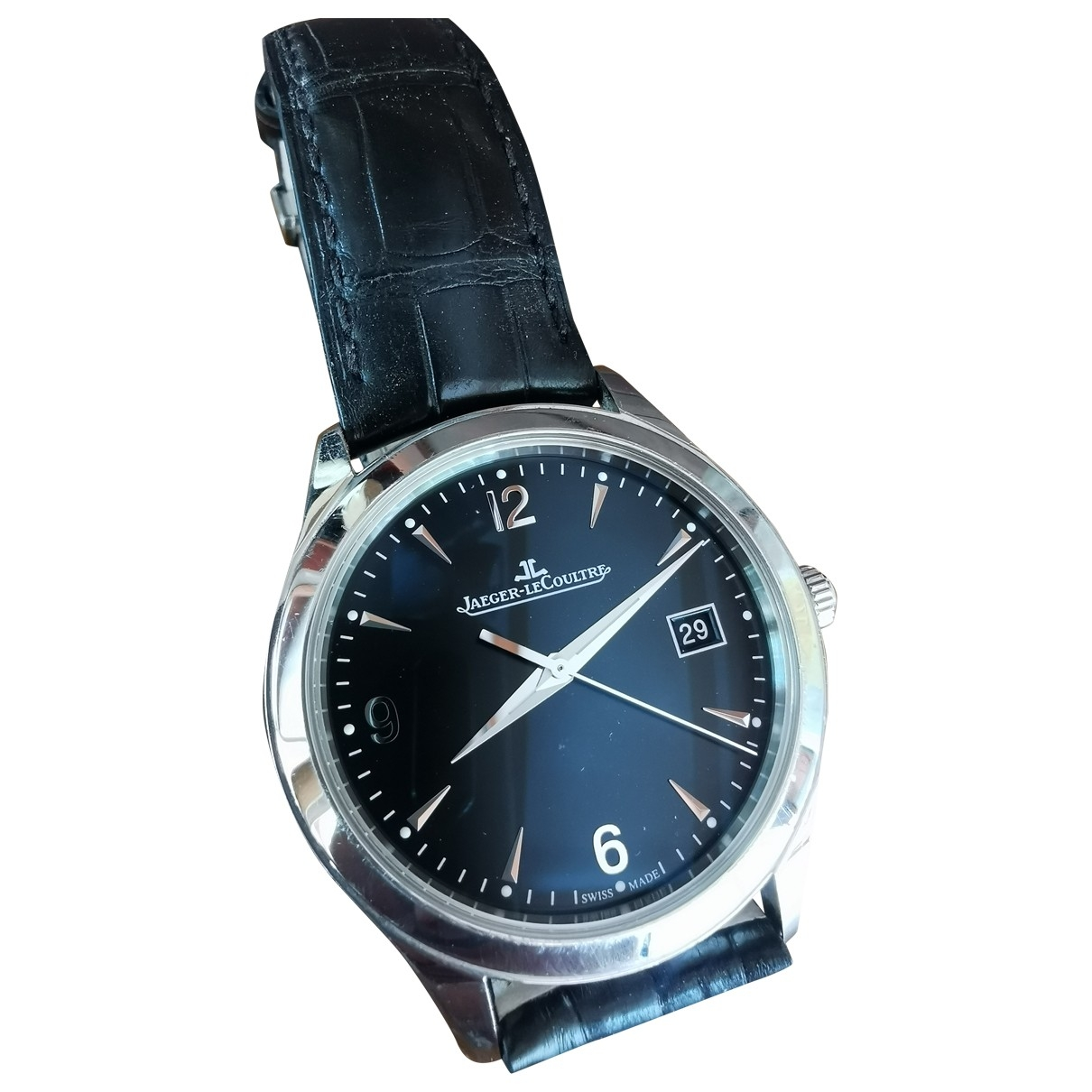 Jaeger-lecoultre Master Control  Anthracite Steel watch for Men \N