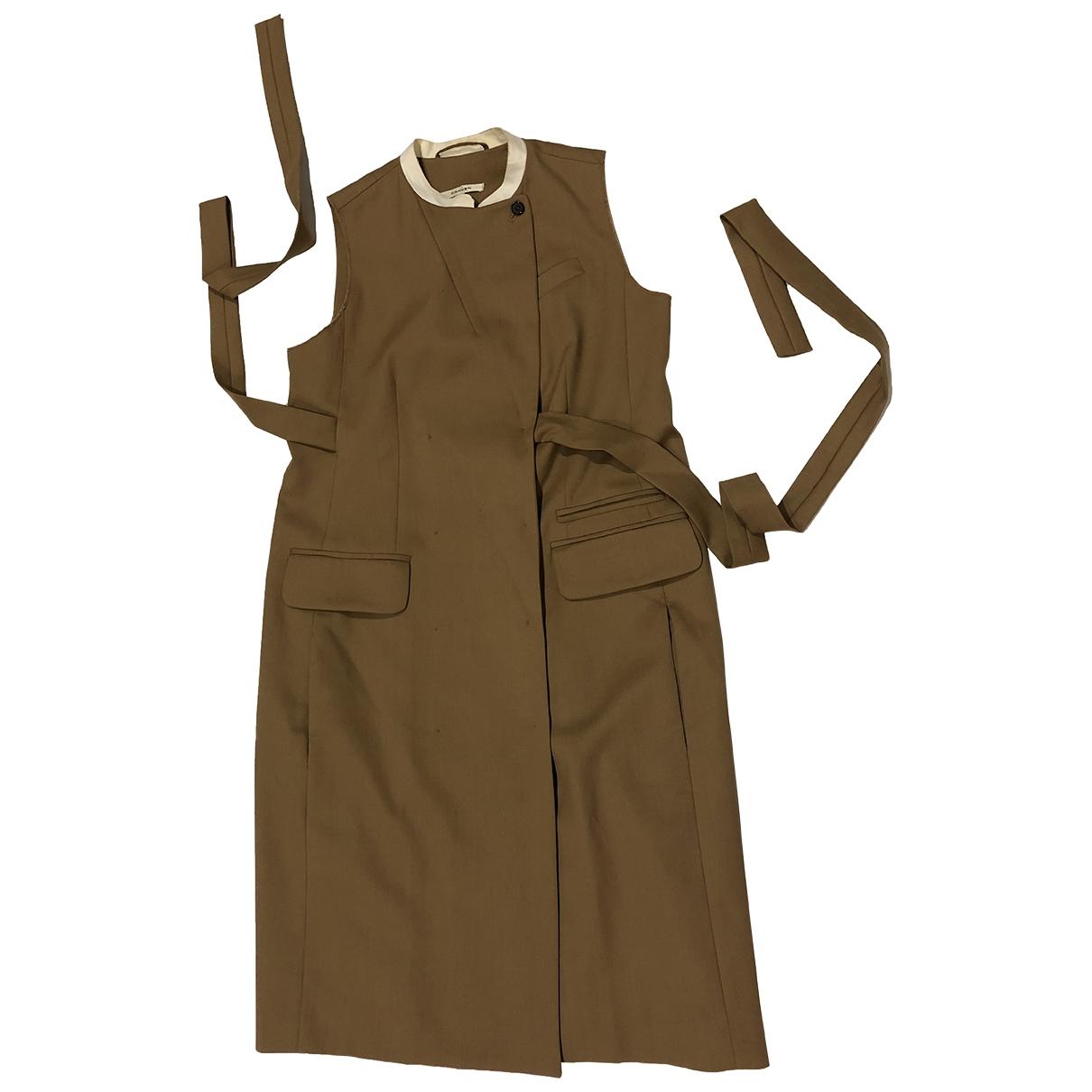 Carven \N Brown Wool dress for Women 40 FR