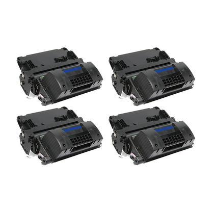 Compatible HP 90X CE390X Black Toner Cartridge High Yield - Economical Box - 4/Pack
