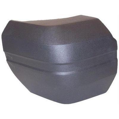 Crown Automotive Rear Bumper End Cap (Black) - 55022077