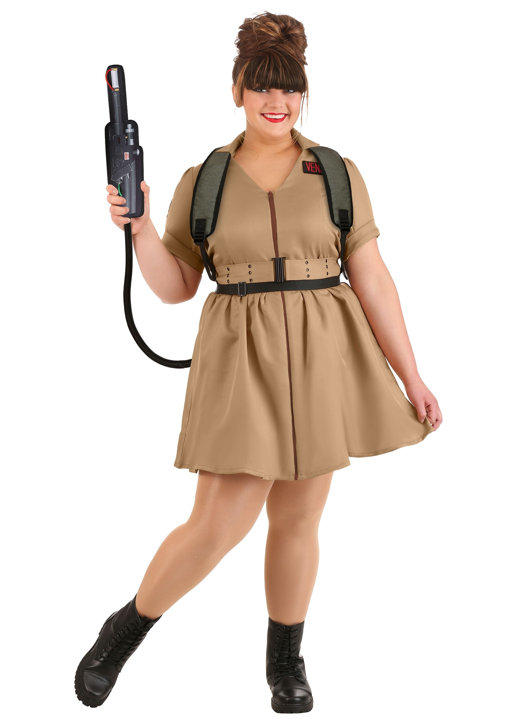 Women's Plus Size Costume Dress Ghostbusters